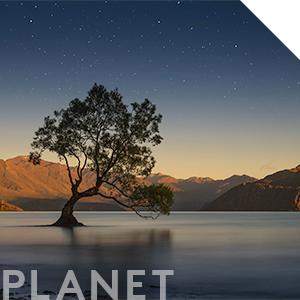 View of New Zealand Wanaka Lake & South Island - Source of our Manuka Honey