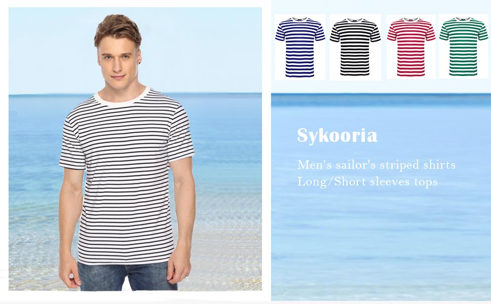mens striped tee shirts