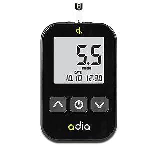 adia Blutzuckermessgerät mmol/l