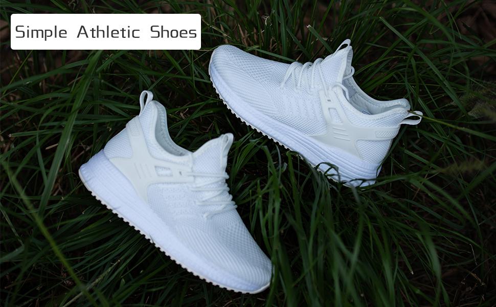 non slip shoes for women white memory foam walking womans shoes tennis shoes
