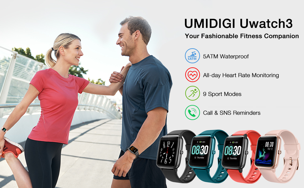 Uwatch 3 main page picture