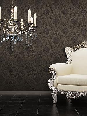 peel and stick wallpaper damask bronze wallpaper for bedroom bathroom metallic