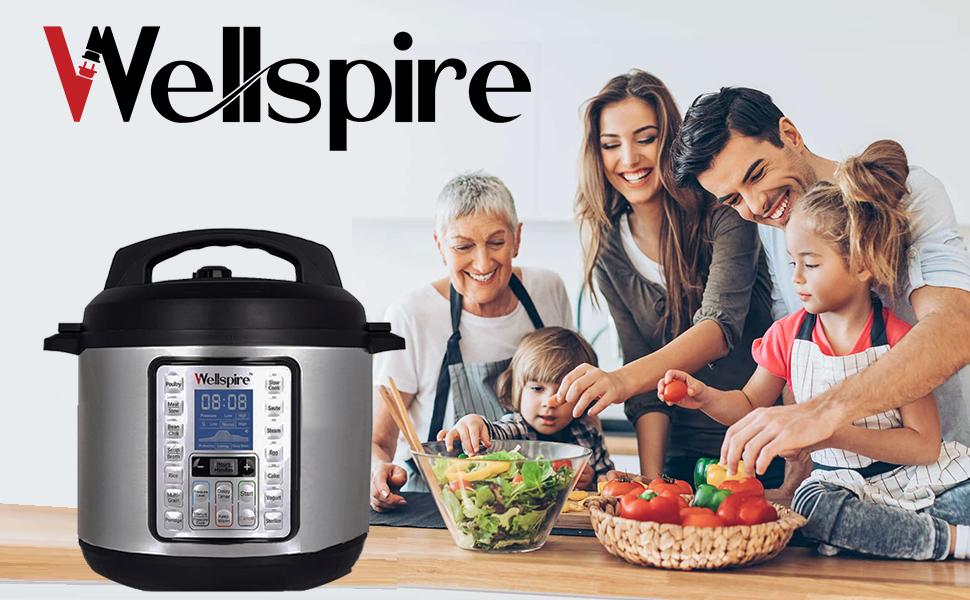 wellspire electric pressure cooker electric cooker multipot instantpot cooking food cooker