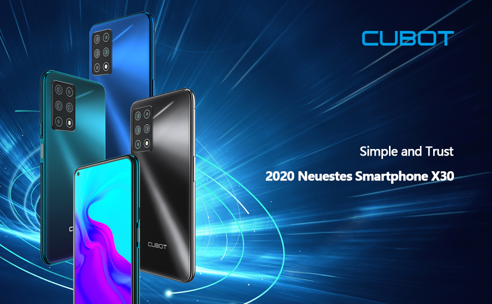 Cubot X30 Smartphone Ohne Vertrag 6gb Ram Elektronik
