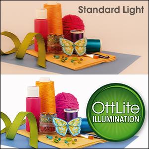 lighting comparison natural daylight illumination true color details reduced glare eyestrain