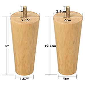 Vanwege het natuurlijke hout zijn de artikelgrootte, patroon en kleur een beetje anders