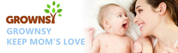 Grownsy—BABY BOTTLE WARMER LOGO