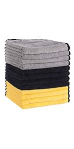 MATCC Microfiber Cleaning Cloths (12 Pack)