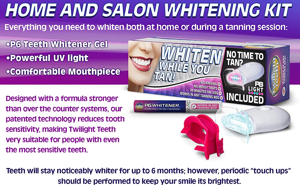 Amazon Com Twilight Teeth Whitening Kit Specially Designed