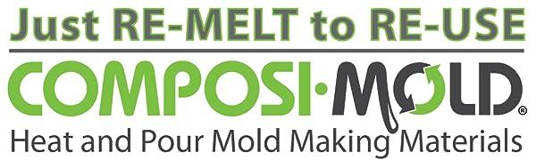 ComposiMold Used 3lbs Reusable Mold Making