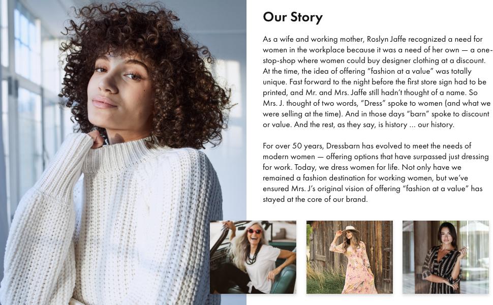 dressbarn, our story