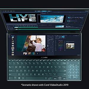 ScreenPad Plus for Video Editors