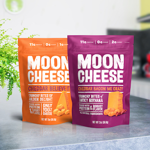 Healthy cheese snack