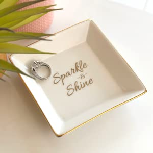 jewelry dish for women sparkle and shine birthday gifts