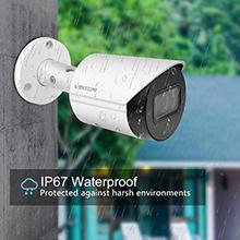4mp dahua ip camera security camera  poe bullet 2.8mm outdoor with SD Card IP67 Weatherproof ONVIF