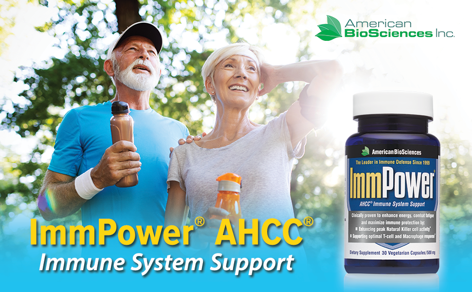 ImmPower AHCC 60 count Immune System Support