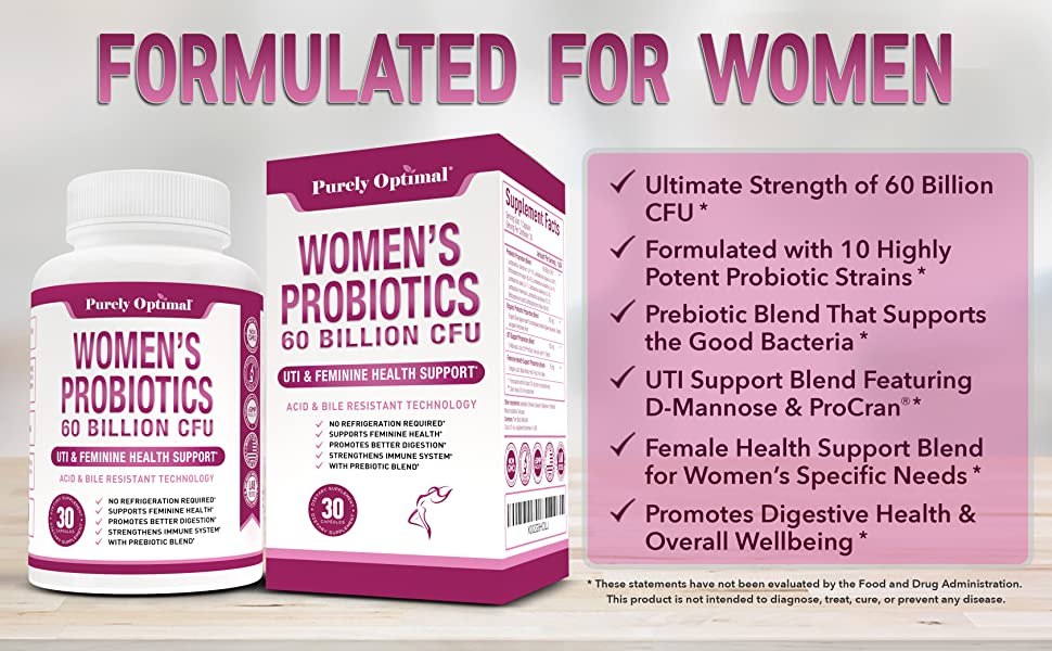 Formulated For Women