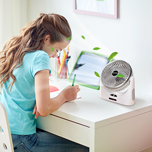battery operated table fan