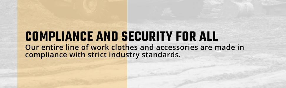 10/4 JOB, 10-4 JOB, Construction Jacket, Reflective Jacket, Raincoat, Durable, Safety Clothes, Nylon