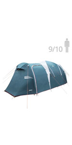 NTK Arizona GT up to 10 Person Sport Family XL Camping Tent