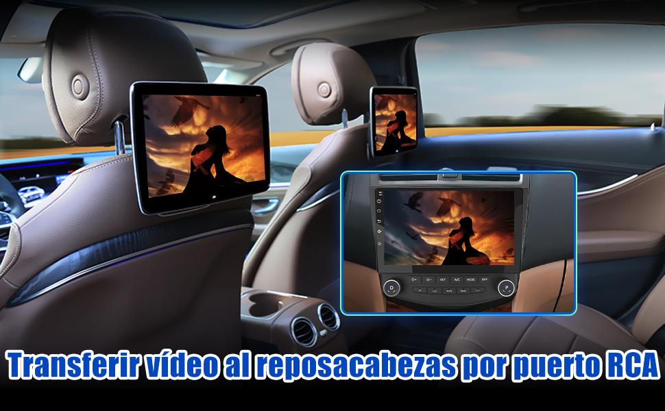Multimedia Honda Accord Android Navegador GPS Honda Accord Android cd coche Honda Accord 7 Android