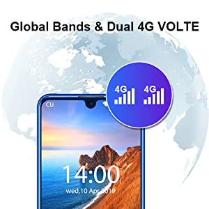 global bands  dual 4G volte