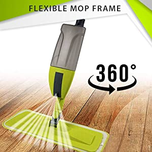 Flexible Mop Frame