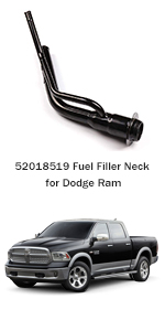 ECCPP Fuel Gas Tank Filler Neck Tube Pipe 52018519 577-908 Fuel Tank Tube Fit for 1994-1997 Dodge Ram 1500 1994-1997 Dodge Ram 2500