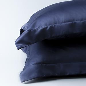 Matte Satin Pillow Shams