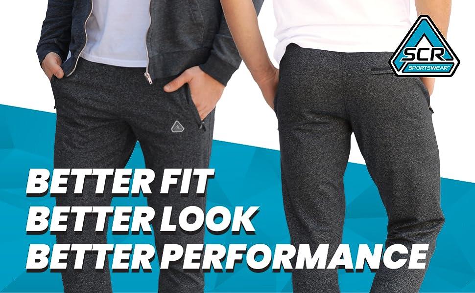 better fit, better look, better performance