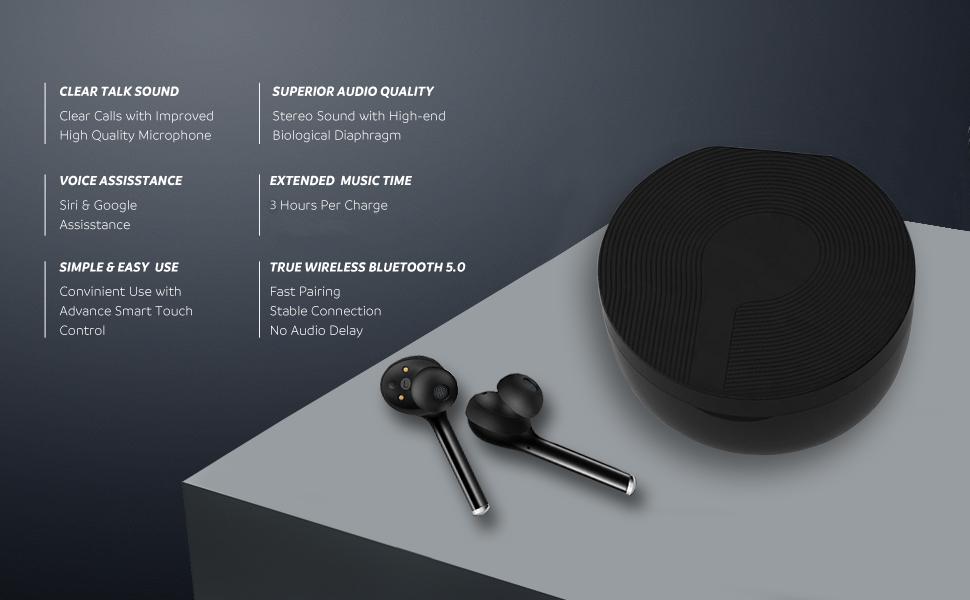 wireless earbuds feature list