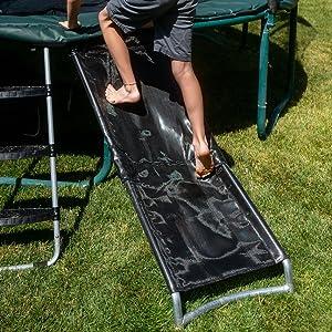 Trampoline Slide