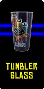 Pac-Man glass