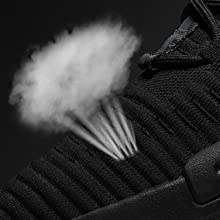 Breathable knit upper