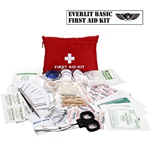 108 Pieces First Aid Kit