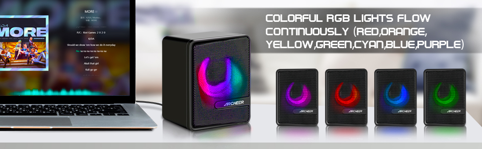 Colorful RGB Light Flow