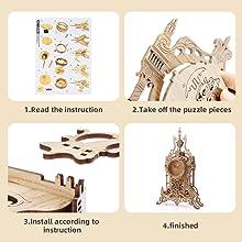 3d wooden puzzles