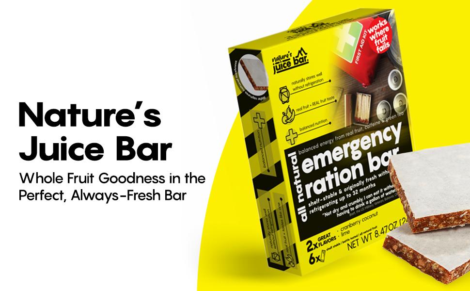 Meal replacement emergency food gluten free bars disaster preparedness meal vegan shelf life snacks