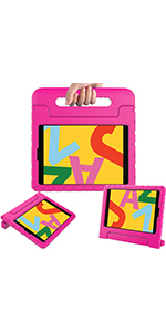 New iPad 10.2 2019 7th generation Handle kids case