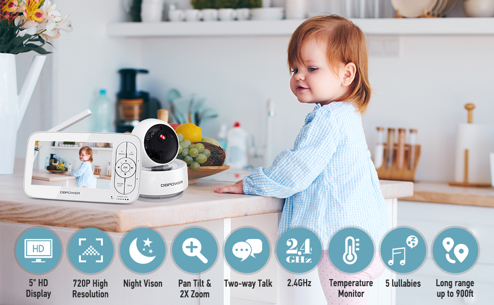 dbpower baby monitor review
