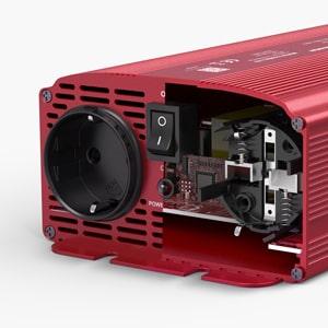 BESTEK Inversor de Corriente 12v a 220v 1000w Onda Sinusoidal ...