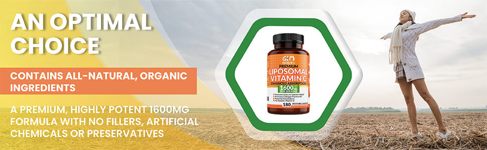 Vitamin C liposomal capsules