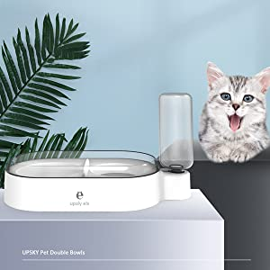 Using Your New Pet Double Bowls