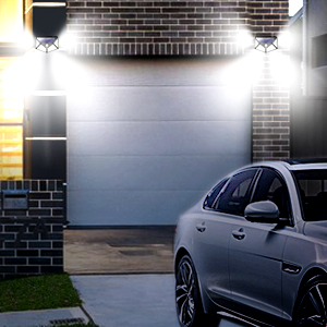 Solar Garage Lights