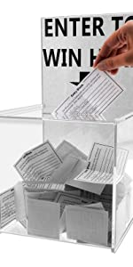 Marketing Holders Ballot Box Comment Suggestion Collection Contest