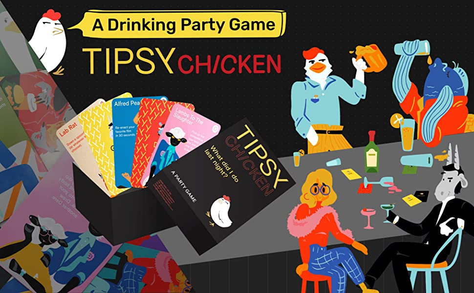 Best Adult Drinking or Party Board Card Game BJ These Cards Will Get You Drunk