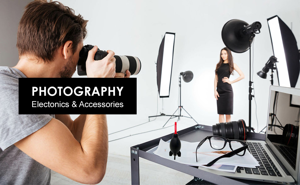 photography accessories and electronics
