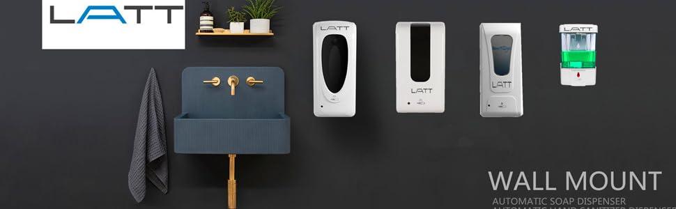 LATT Premium Touch-less Wall Mount Hand Sanitizer Dispenser