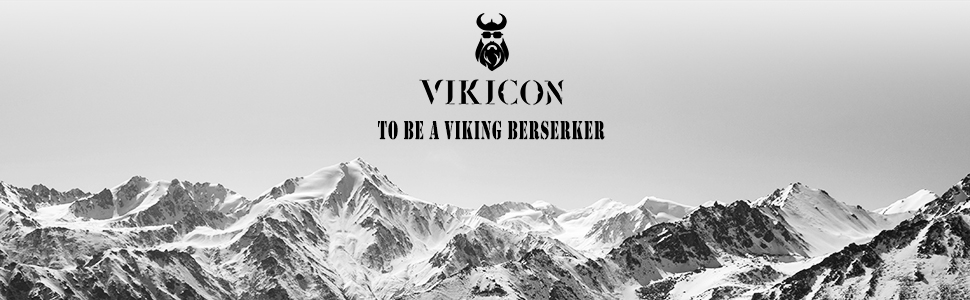 VIKICON beard growth kit with beard guard