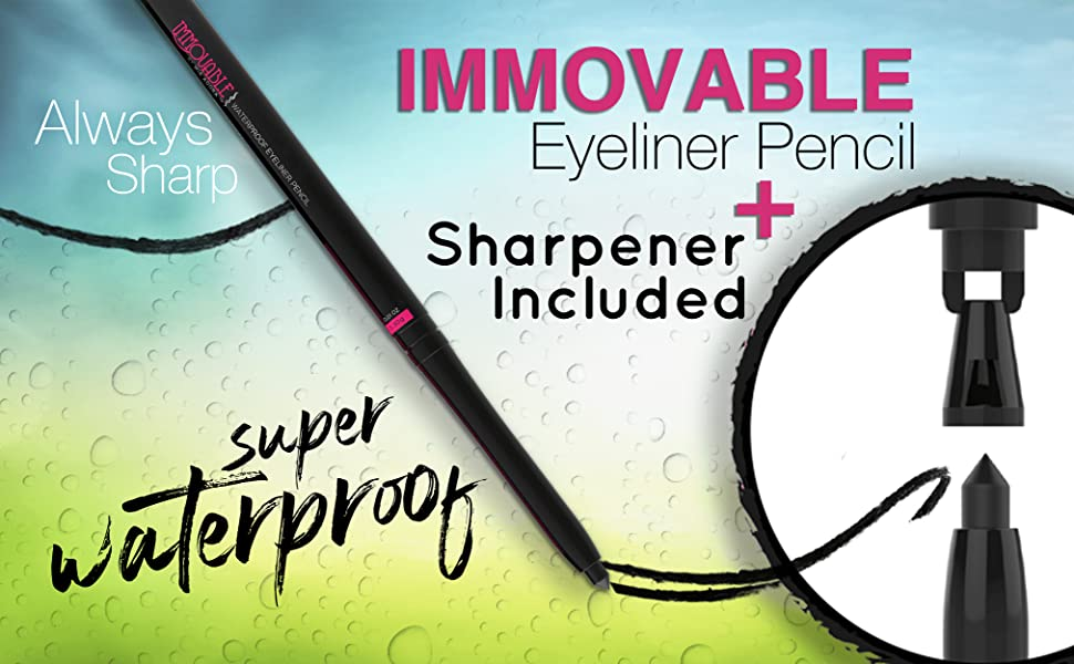 mia adora eyeliner immovable eyeliner eyeliner pencil black eyeliner waterproof